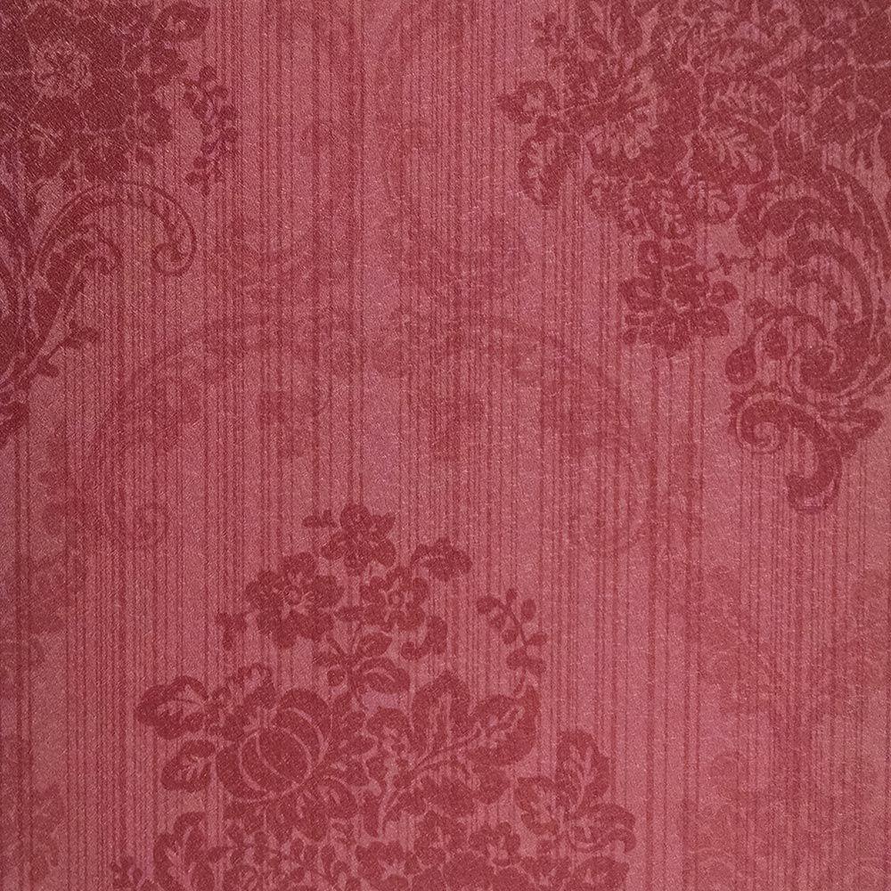Papel de Parede Vermelho Bordo FS161301