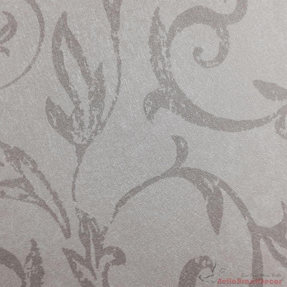 Papel de Parede Creme e Lilas FS091502
