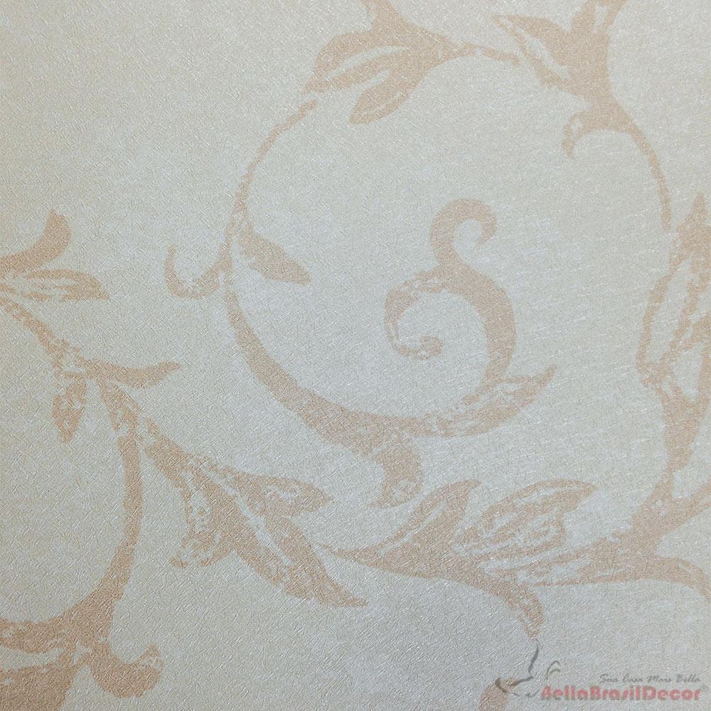 Papel de Parede Salmão Rose FS071505