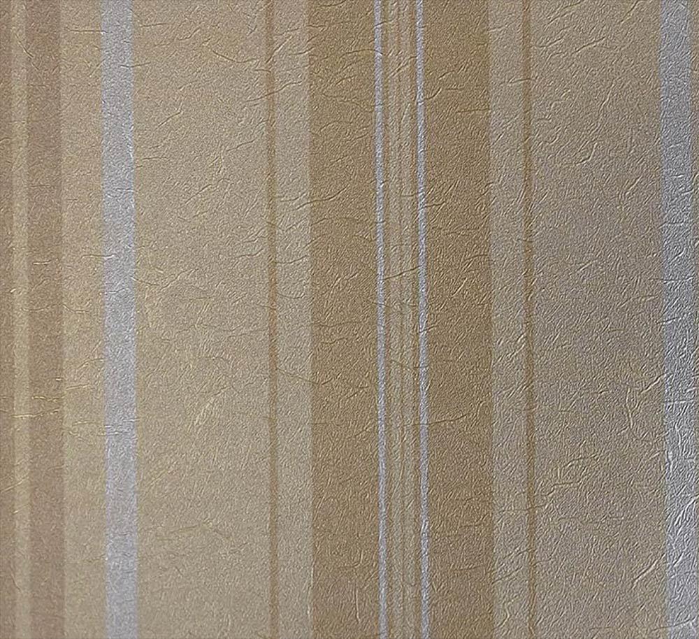 Papel de Parede Marrom e Dourado BH5482006