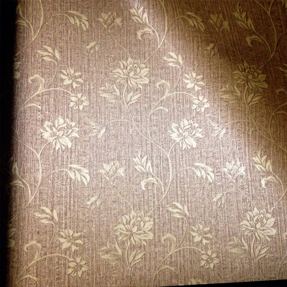 Papel de Parede Marrom e Dourado FS291209