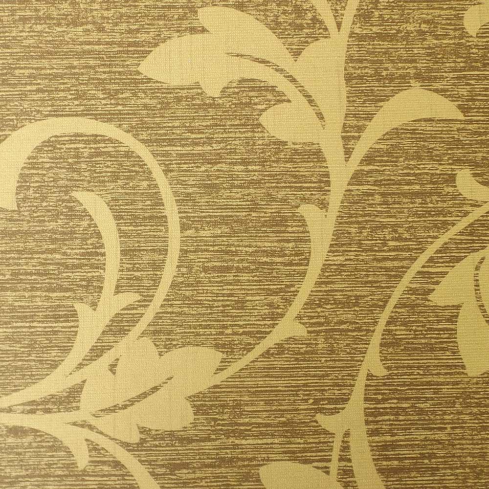 Papel de Parede Marrom e Dourado FS572001