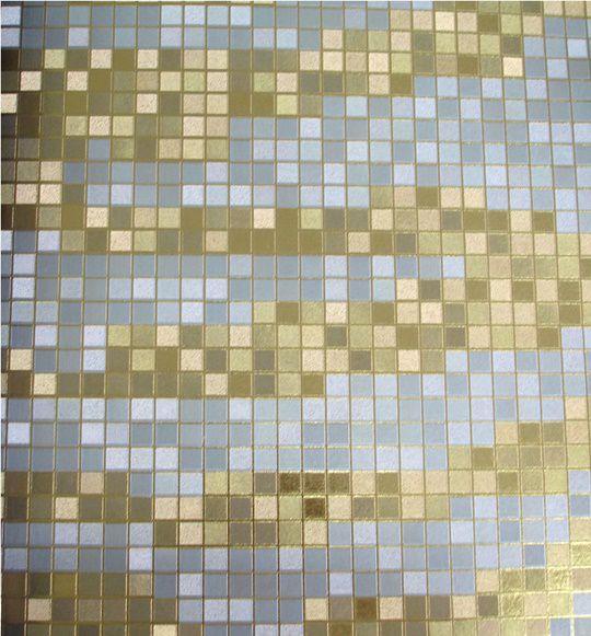 Papel de parede Branco e Dourado PL3513002
