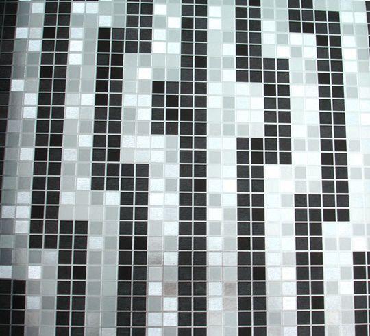 Papel de parede Preto e Prata PL2113305