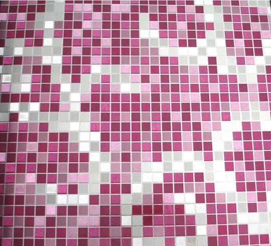 Papel de parede Roxo e Prateado PL0713506