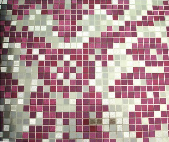 Papel de parede Roxo e Dourado PL1513606