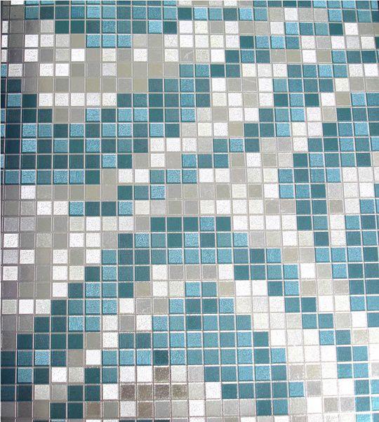 Papel de parede Azul e Branco PL3113701