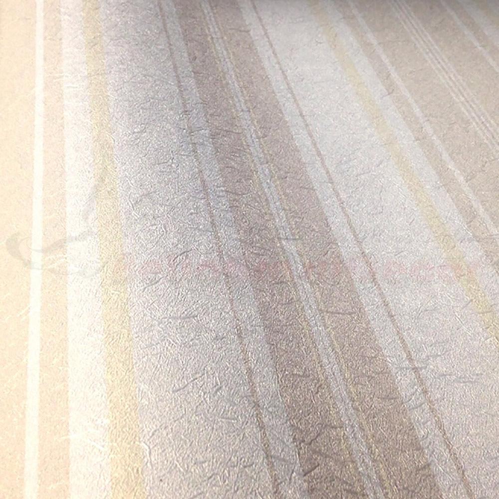 Papel de Parede Creme e Dourado BH5582001