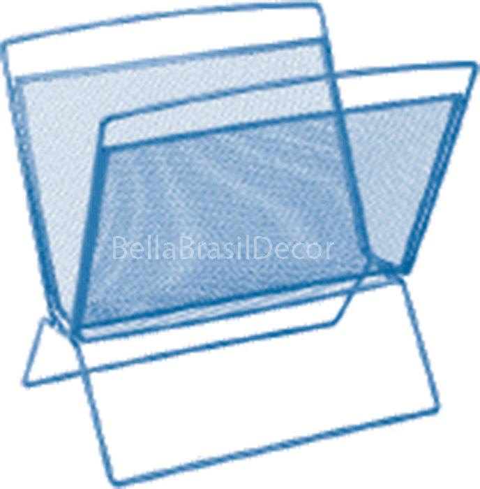 Porta revistas BELLA649 03 Azul