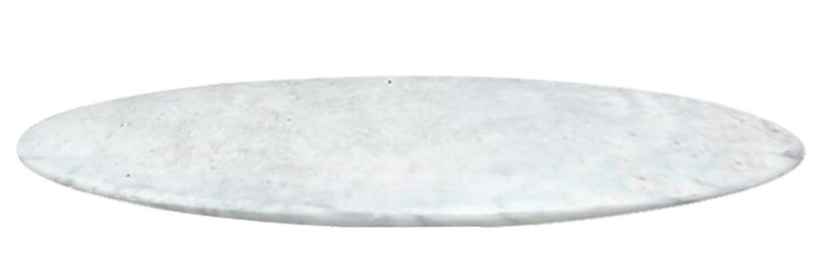 Tampo de Marmore Redondo Carrara
