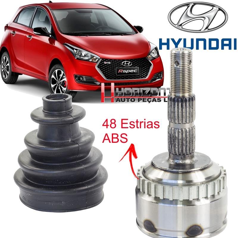 Junta Homocinetica Hyundai HB20 1.6 16V Automatico C/ABS ....25x22