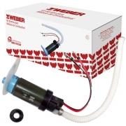 Bomba Eletrica de Combustivel Flex Alcool ou Gasolina Weber - Original