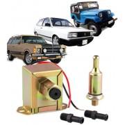 Bomba Eletrica Gasolina e Alcool Universal Carburador 12v