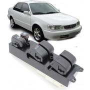 Botao Interruptor Vidro Eletrico Corolla 1998 a 2002 - 2 Conectores