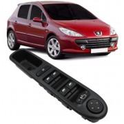 Botao Interruptor Vidro Eletrico Peugeot 307 2.0 16V Com Rebatimento