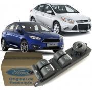 Botao Interruptor Vidro Eletrico Quadruplo Focus e New Fiesta de 2013 À 2019