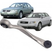 Braco Oscilante de suspensao Passat  Audi A4 e  A6 Superior curvo Direto Passageiro