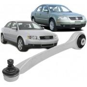 Braco Oscilante de suspensao Passat  Audi A4 e  A6 Superior Reto Direto Passageiro