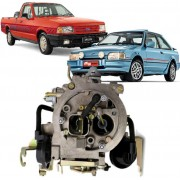 Carburador 2E Escort Pampa motor AP 1.8 a Alcool