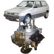 Carburador Uno Premio Elba Fiorino motor 1.6 Weber TLDF Gasolina Novo