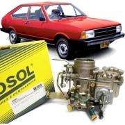 Carburador Voyage 1.5 Passat 1.5  Simples à Alcool - Original Solex Brosol
