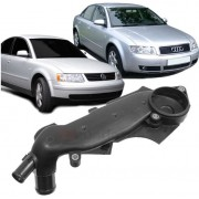 Carcaca Valvula Termostatica Audi A4 A6 Passat 2.4 2.7 e 2.8 V6 de 1997 a 2005