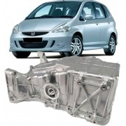 Carter De Oleo Do Motor Honda Fit 1.4 e 1.5 de 2003 à 2008