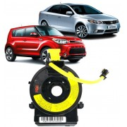 Cinta Airbag Hard Disc Kia Cerato E Soul 1.6 Com controle de Som Sem piloto Automatico - 93490-2k200