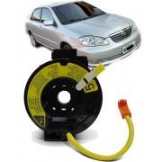 Cinta Airbag Hard Disc Toyota Corolla Todos de 2003 a 2008 Sem controle de som no volante