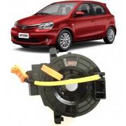 Cinta Airbag Hard Disc Toyota Etios 1.3 e 1.5 16v Com Som no Volante