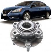 Cubo de Roda Com Rolamento Dianteira Nissan Sentra 2.0 16V 2014 2015 e 2016 5 Furos