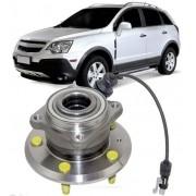Cubo de Roda Com Rolamento Traseiro Captiva 2.4 16V e 3.6 24V Com freio ABS