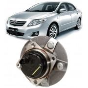 Cubo de Roda Com Rolamento Traseiro Corolla 1.8 16v e 2.0 16v de 2009 a 2014 Com ABS