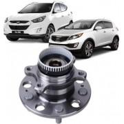 Cubo de Roda Traseiro Com Rolamento Hyundai IX35 e Sonata 2010...