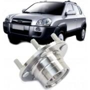 Cubo de roda Traseiro com Rolamento Hyundai Tucson e Kit Sportage 2.0 16V apos 2005 Sem Freio ABS