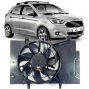 Eletroventilador Ventoinha Radiador New Fiesta 1.6 16v Ford KA 1.0 e 1.5 Após 2015 - D3B58C607AA