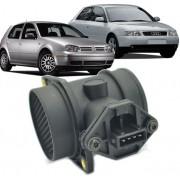 Fluxo de Ar Golf Gti 1.8 Turbo Audi 1.8 Turbo 150cv 0280217117