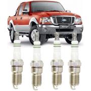 Jogo de Vela Ignicao Iridium Ford Ranger 2.3 16V de 2001 a 2012