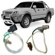 Kit com 02 Sensores Interruptor 4x4 Mitsubishi L200 Pajero Sport