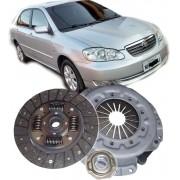 Kit De Embreagem Toyota Corolla 1.6 e 1.8 16v de 2003 à 2008