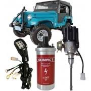Kit Ignicao Eletronica Jeep Wyllis F-75 Rural 6cc - Sem modulo