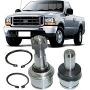 Kit Pivo de Suspensao Superior E Inferior Ford F250 e F350 Super Duty 4x2 de 1998 à 2012