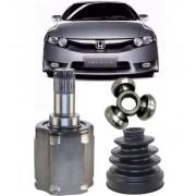 Kit Tulipa Trizeta e Coifa Honda New Civic 1.8 16v Automatico de 2006 à 2012 Ld Esquerdo
