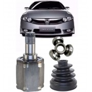 Kit Tulipa Trizeta e Coifa Honda New Civic 1.8 Automatico Ld Direito