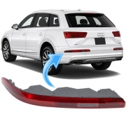 Lanterna de Neblina Parachoque Traseiro Esquerdo Audi Q7 de 2016 À 2021