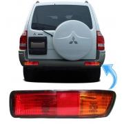 Lanterna de Neblina Parachoque Traseiro Pajero Full de 2001 a 2003 Direita