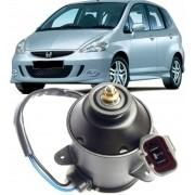 Motor Ventoinha Radiador Honda Fit 2003 à 2008 Crv de 2007 à 2012