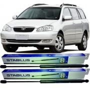Par de Amortecedor da tampa traseira porta mala Toyota Fielder 2004 à 2009 - Original