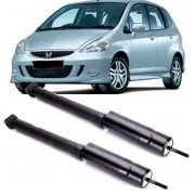 Par de Amortecedor Traseiro Honda Fit 1.4 e 1.5 de 2003 a 2008