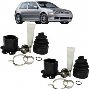 Par de Tulipa Trizeta Coifa Golf GTI e Audi A3 Cambio Tiptronic 180cv 34Dentes